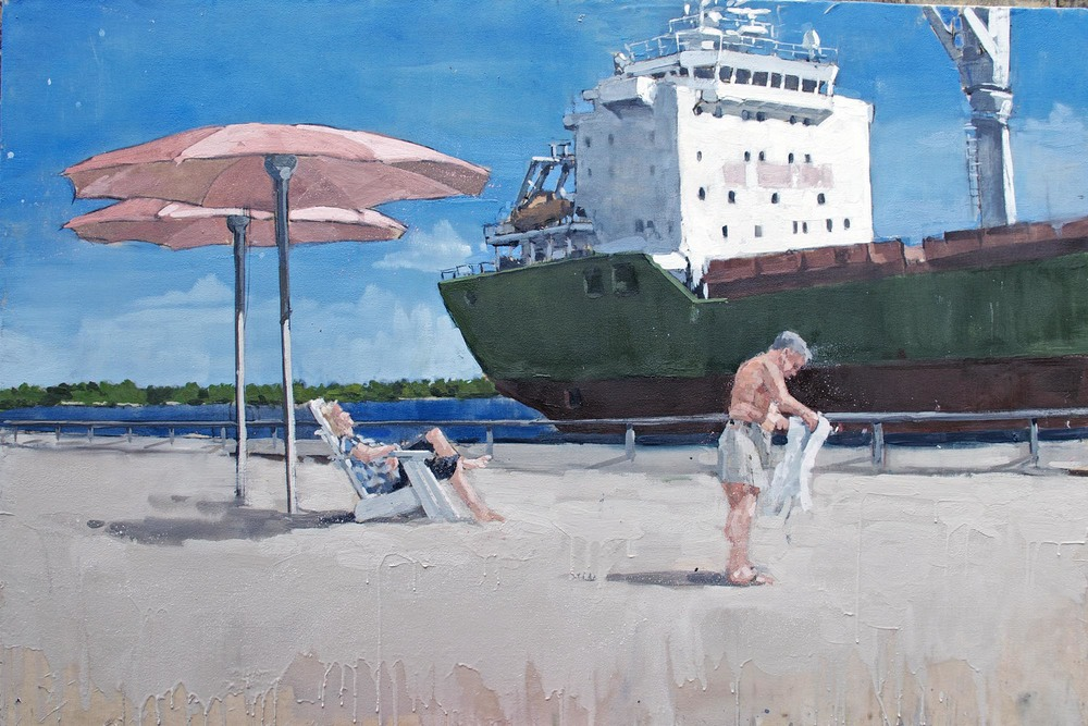 Sugar Beach #2 (2015) (sold)