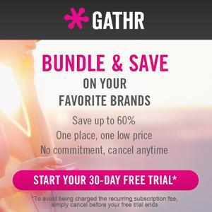 AOL: GATHR  Brand strategy, UX/UI