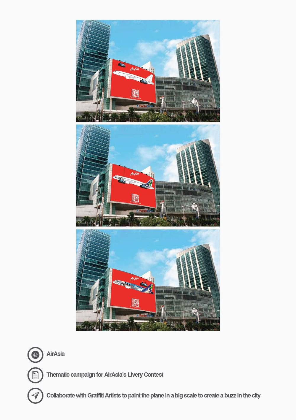AirAsia Thematic campaign for AirAsia's Livery Contest