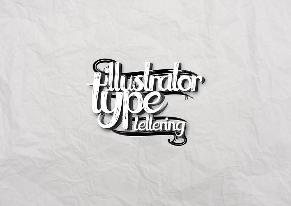 Illustrator Type Lettering