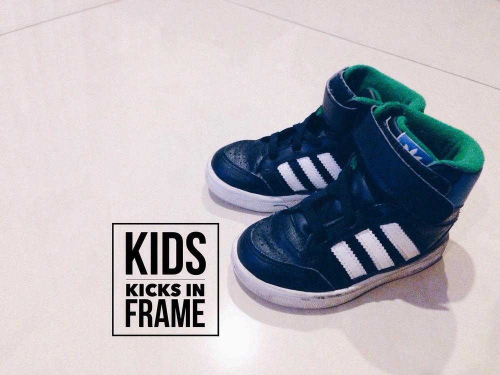 Kids Kicks In Frame