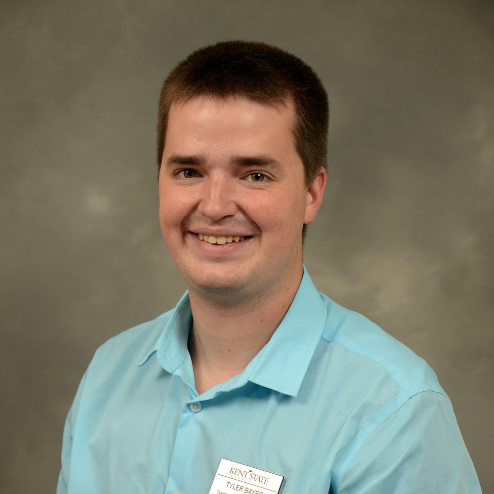 Director of Student Involvement  Tyler Bayer /tbayer@kent.edu Office Hours: Monday: 2 to 5 p.m. Tuesday: 4 to 5 p.m. Wednesday: 2 to 5 p.m. Thursday: 10 to 11 a.m., 3 to 5 p.m.