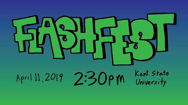 Hey Flashes! We will be hosting FlashFest on April 11th this year! Stay tuned as we announce our lineup tomorrow! Any guesses on who all we are bringing?!? #FlashFest2k19 #kentstateuniversity