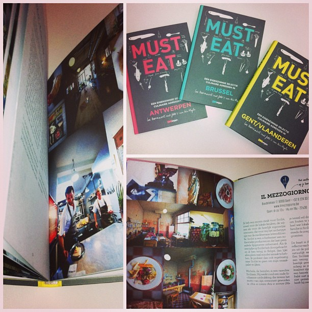 Zo hebberig over deze boekjes! 3 must-eat gidsen vanaf zaterdag bij @demorgen #fuzel #promotweet