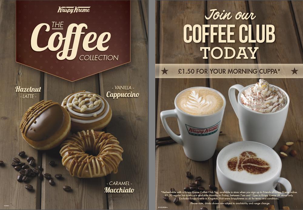 Krispy Kreme Coffee range