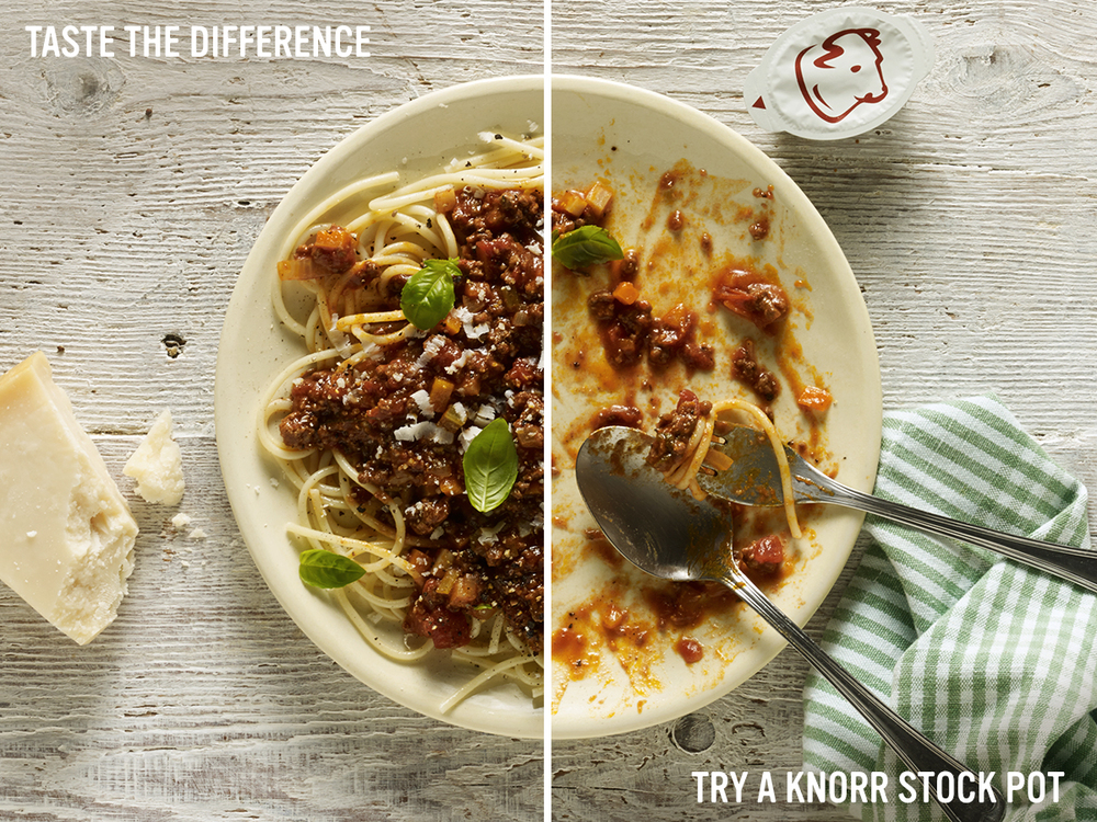 "Knorr ""Taste the difference"", Edelman, London"