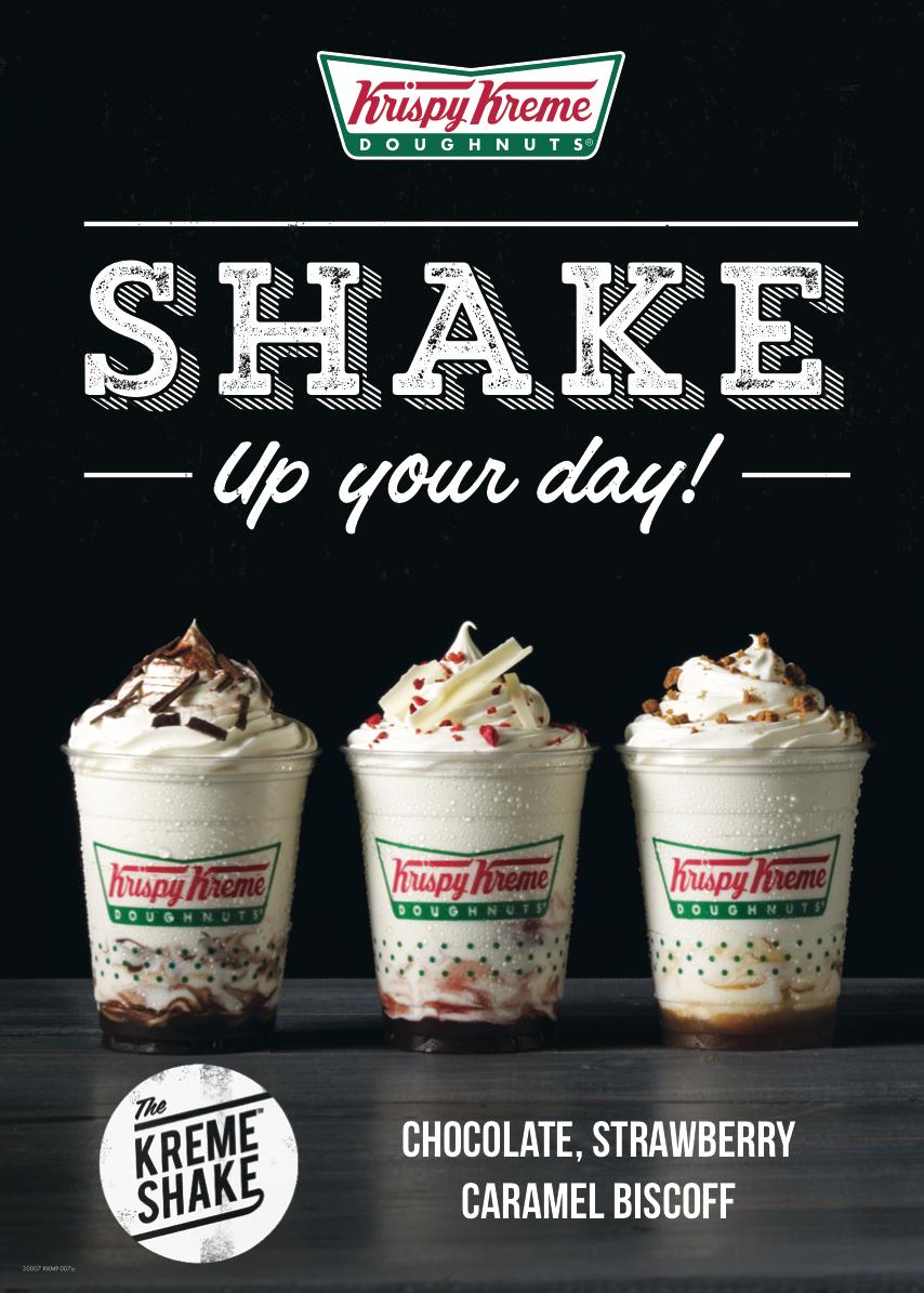 Krispy Kreme Milkshakes