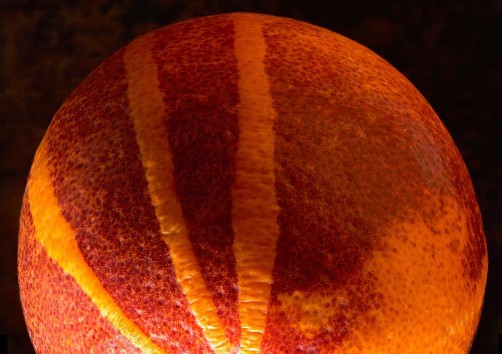 Other-worldly blood orange