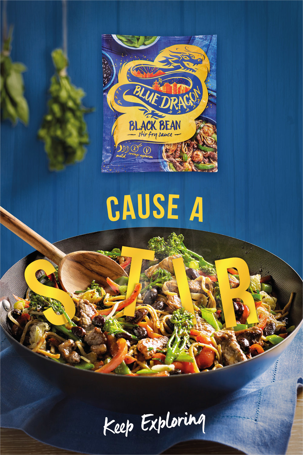 Blue Dragon advertising campaign shot for Reci.pe.  Food styling by Nico Ghirlando/Hers Agency