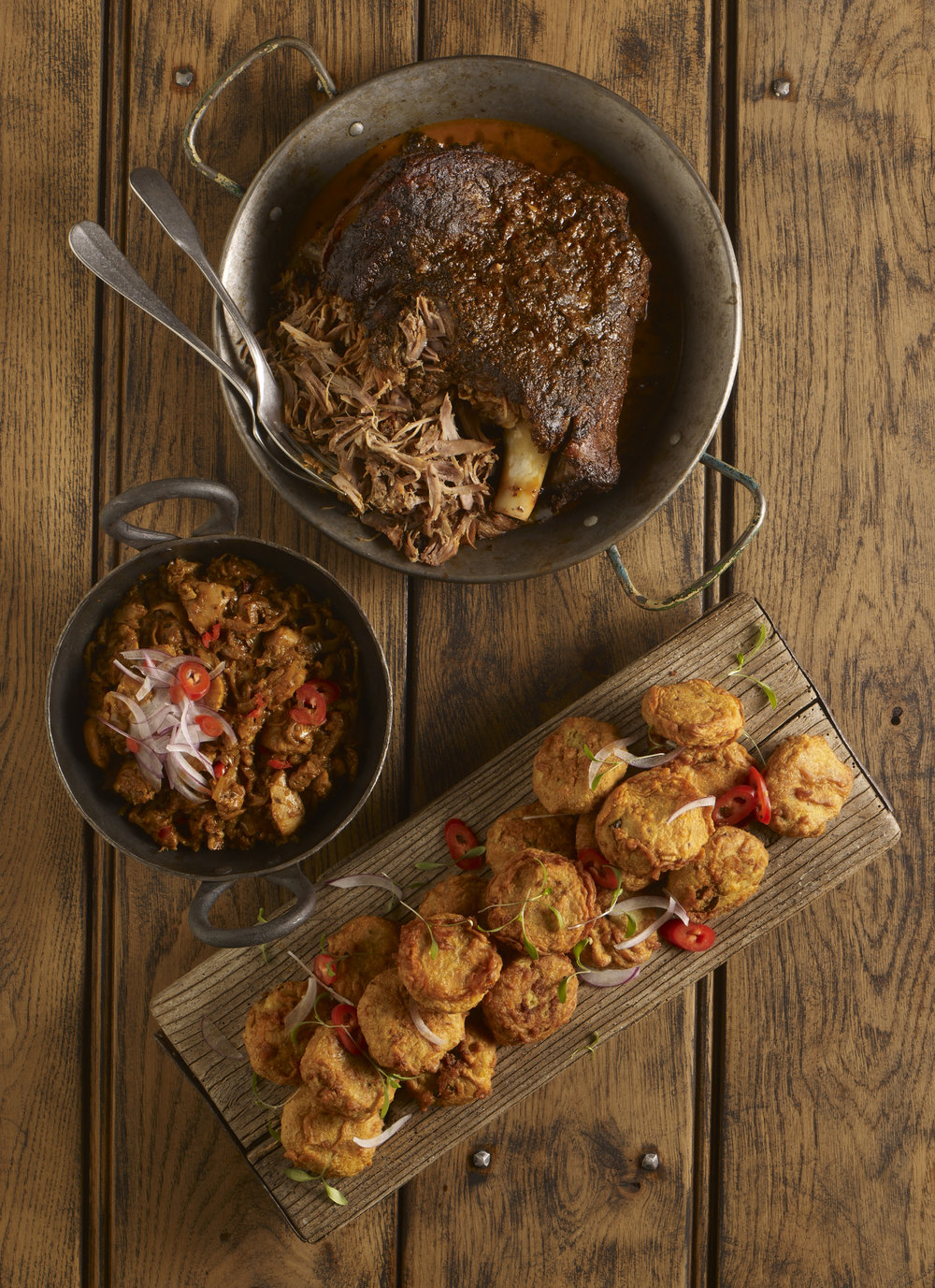 Modern Indian cuisine for Knorr, Food styling by Nico Ghirlando
