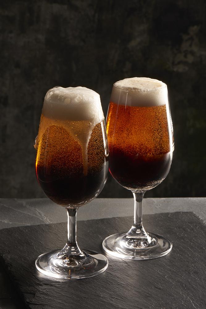 Black velvet, Guinness and champagne