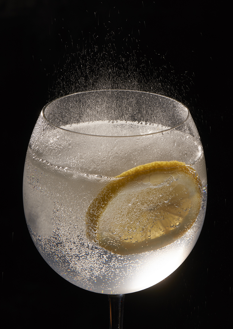 Fizzing Gin and tonic