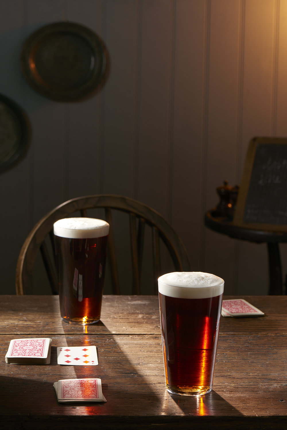 John Smith's Ale.  Props styling by Tamsin Weston