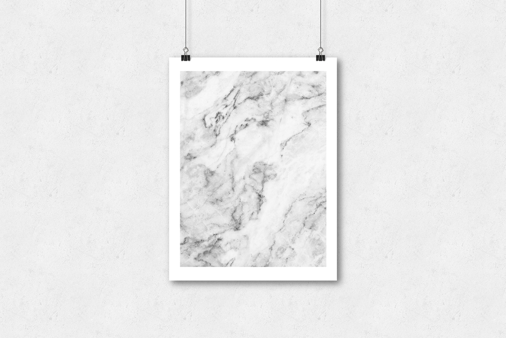 Design | Daily News Project | Poster Series Marble Poster Series Wall Art for a Studio or Home