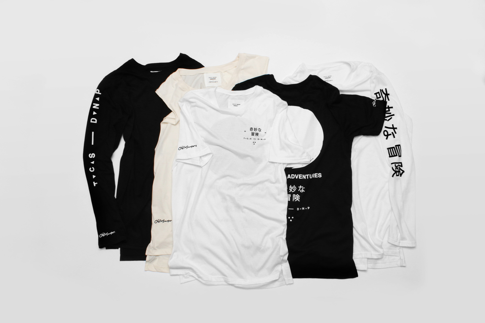 Editorial | The Chainsmokers | Collaboration Strange Adventures Limited Capsule Collection