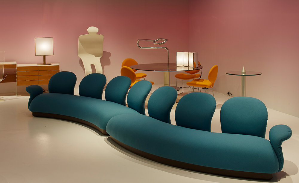 Demisch Danant is injecting a spot of colour into proceedings, presenting furniture by Pierre Paulin, Maria Pergay and more against a soothing pink ombré backdrop – cue the Instagram frenzy.