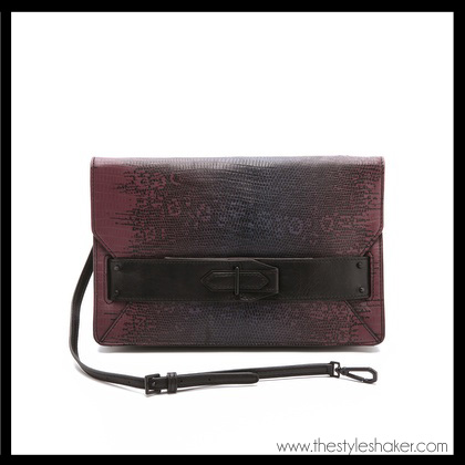 shop the 10 Crosby Derek Lam Ombre Lizard Folio Clutch