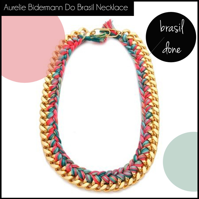 1 Aurelie Bidermann Do Brasil Necklace