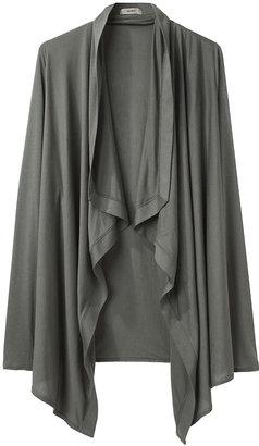 1 HELMUT Drape Front Cardigan