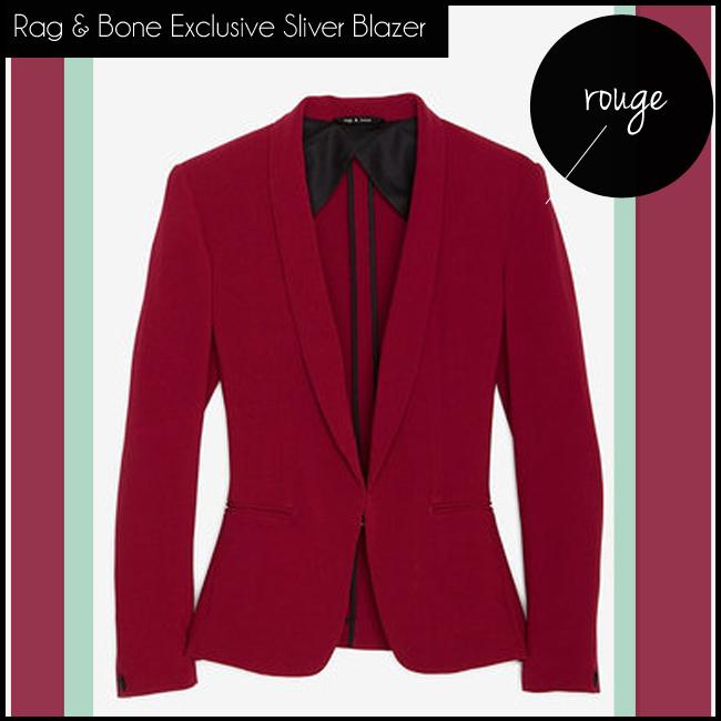 1 Rag & Bone Rag & Bone Exclusive Sliver Blazer