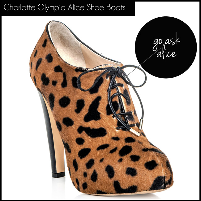 2 Charlotte Olympia Alice Shoe Boots