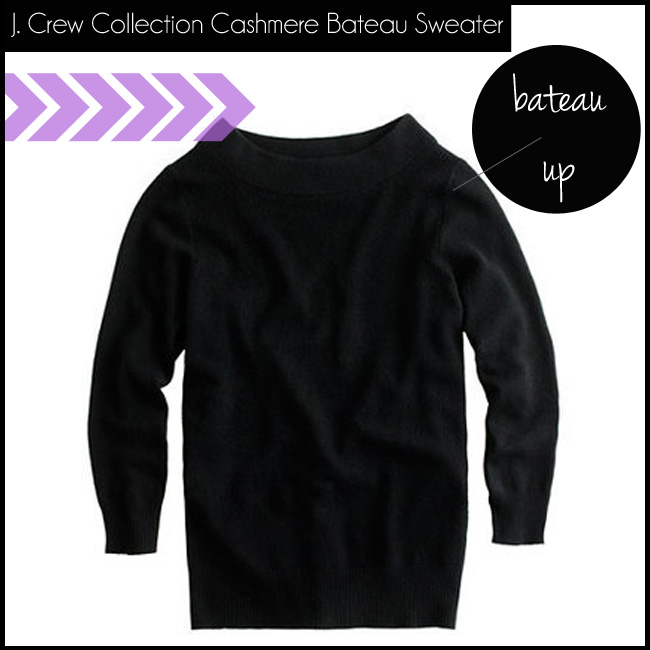 2 J. Crew Collection Cashmere Bateau Sweater