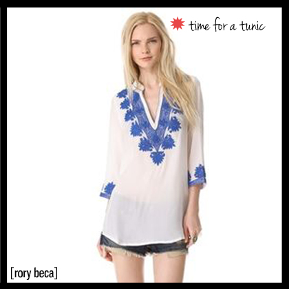 2 Rory beca Embroidered Caftan Tunic