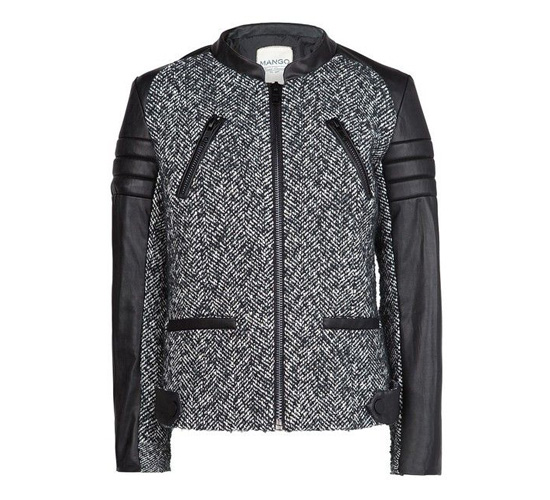 shop the MANGO Combi biker jacket