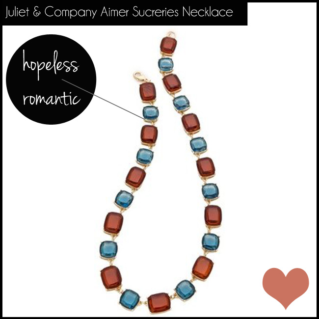 3 Juliet & Company Aimer Sucreries Necklace