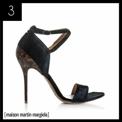 3 Maison Martin Margiela Ponyskin Sandals