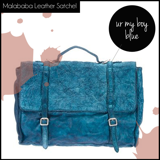 3 Malababa Leather Satchel