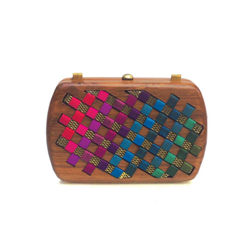 shop the Rachana Reddy Drama Clutch