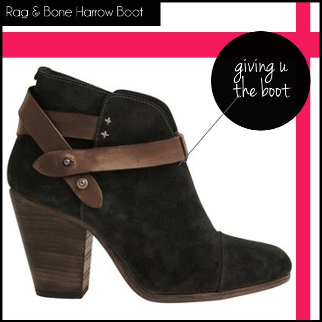 3 Rag & Bone Harrow Boot