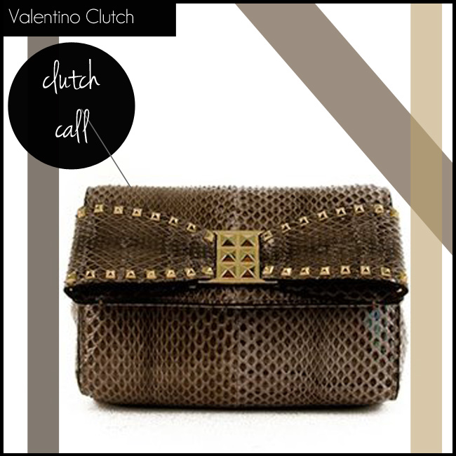 3 Valentino Clutch