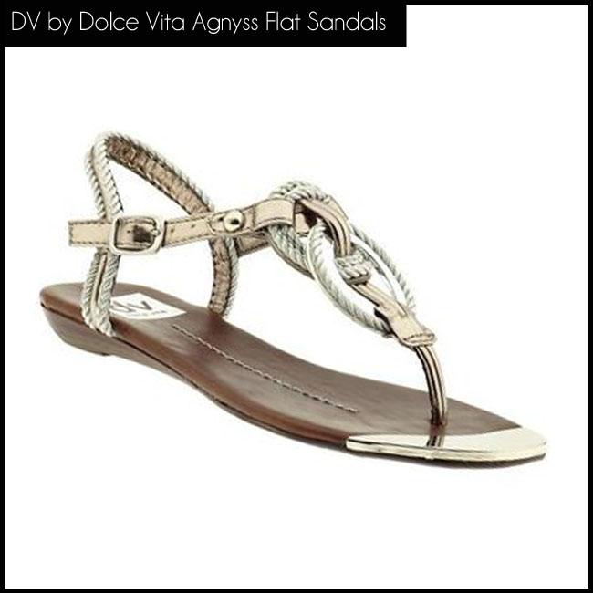 4 DV by Dolce Vita Agnyss Flat Sandals