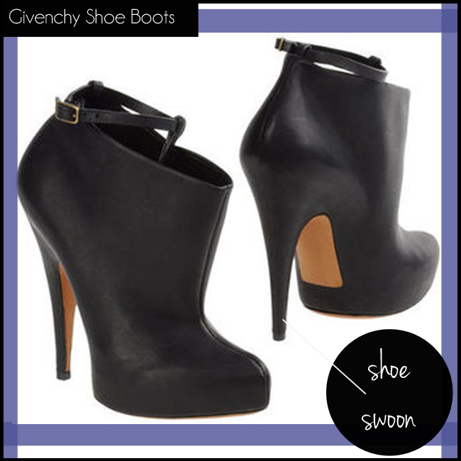 4 Givenchy Shoe Boots