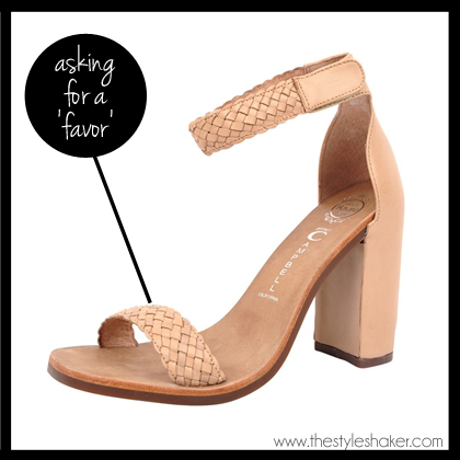 shop the Jeffrey Campbell Favor Sandal