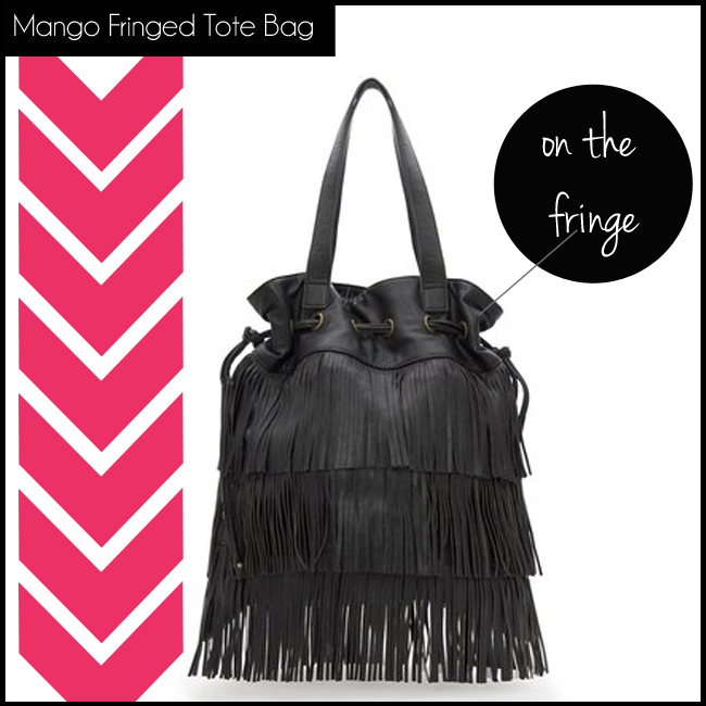 4 Mango Fringed Tote Bag