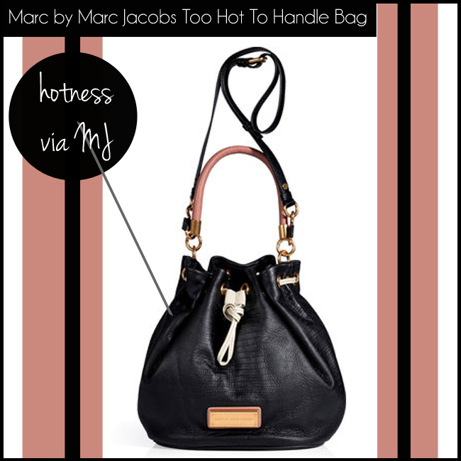 4 Marc by Marc Jacobs Too Hot To Handle Drawstring Bag