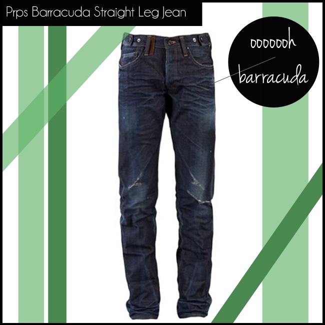 4 Prps Barracuda Straight Leg Jean