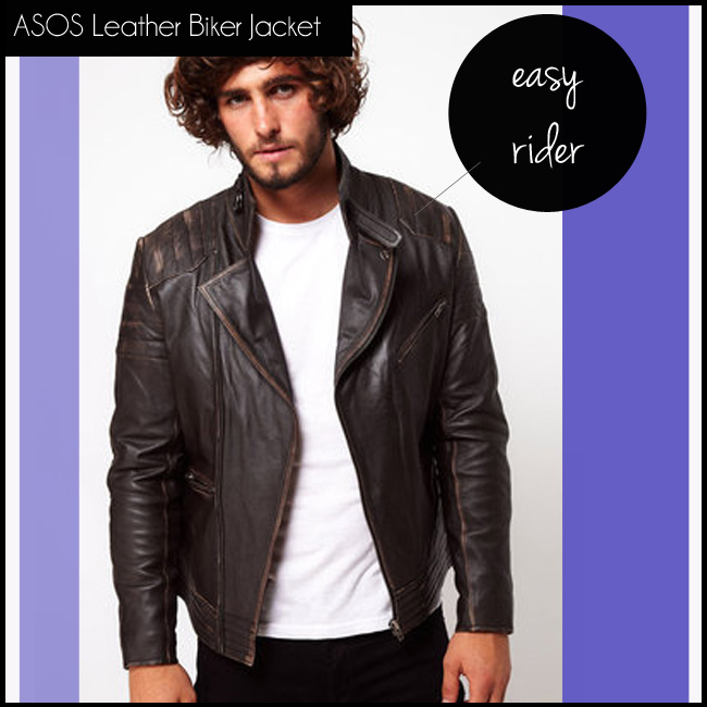 5 ASOS Leather Biker Jacket