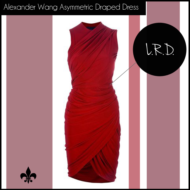 5 Alexander Wang Asymmetric Draped Dress