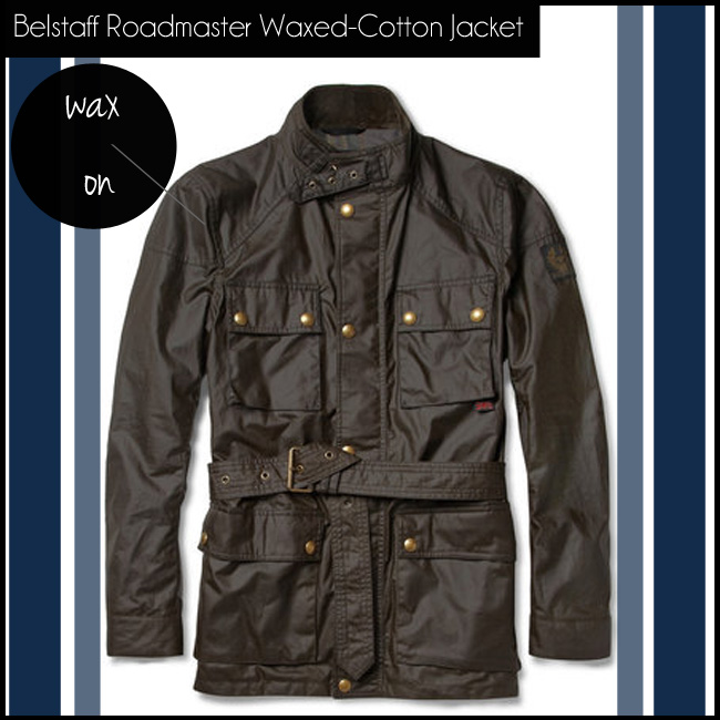 5 Belstaff Roadmaster Waxed-Cotton Jacket