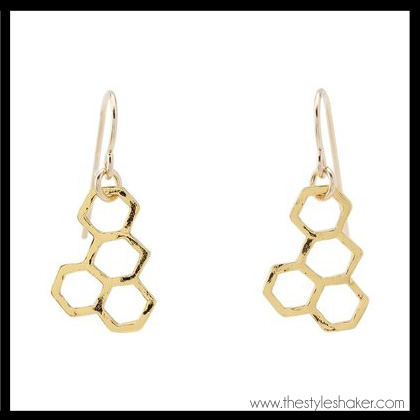 shop the Gorjana Honeycomb Earrings