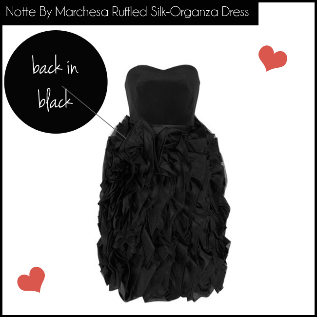 5 Notte By Marchesa Ruffled Silk-Organza Dress