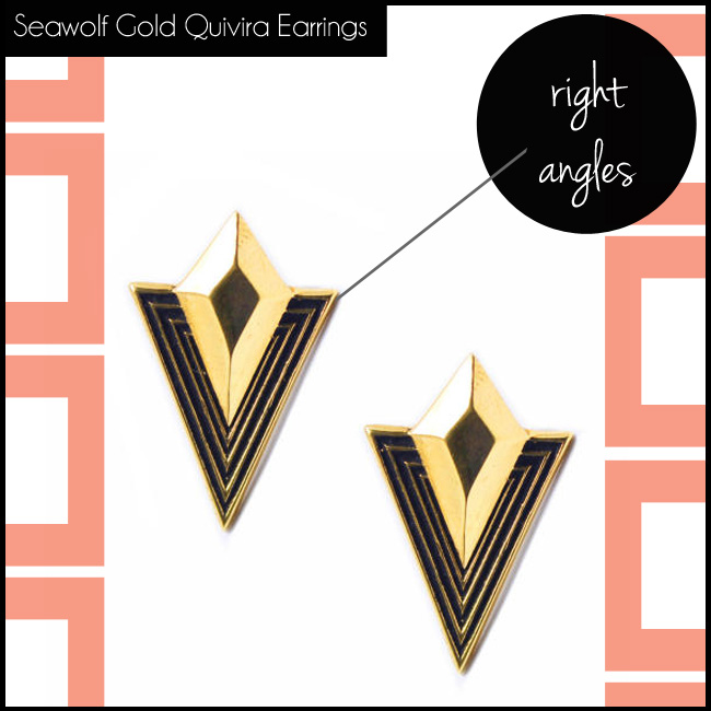 5 Seawolf Gold Quivira Earrings