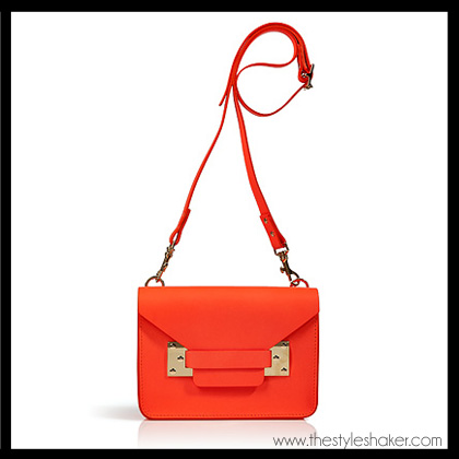 shop the Sophie Hulme Mini Envelope Crossbody Bag
