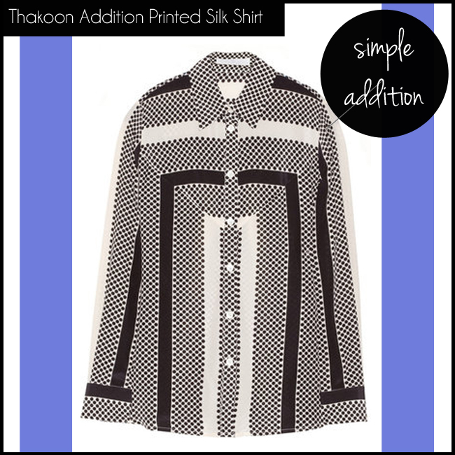 5 Thakoon Addition Printed Silk Shirt