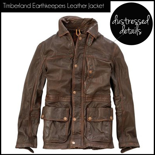 5 Timberland Earthkeepers Leather Jacket