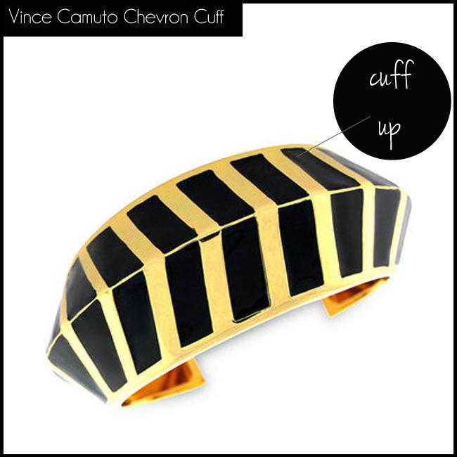5 Vince Camuto Chevron Cuff